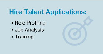Hire Talent Card Set Applications