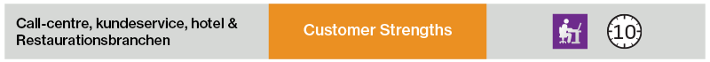 Customer Strengths